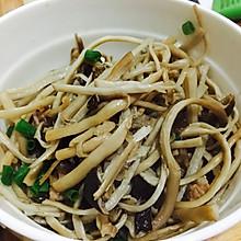 清蒸茶树菇