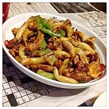 炒蘑菇蒜蓉辣酱版
