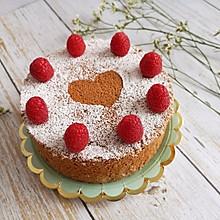 情人节专属  ins爱心可可蛋糕
