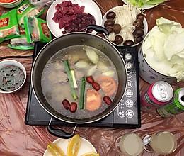 自制火锅汤底+蘸料的做法