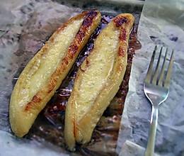 香蕉新吃法--奶酪烤香蕉的做法