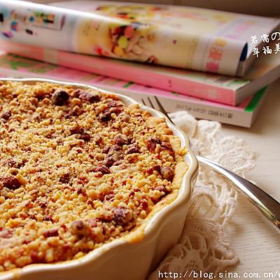 小小一口,幸福感爆满-----奶香四溢的肉桂苹果芝士派