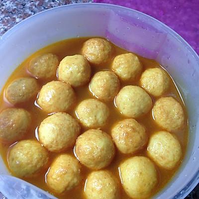 咖喱风味:咖喱鱼蛋