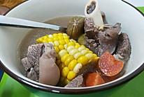 板栗胡萝卜玉米羊肉汤的做法