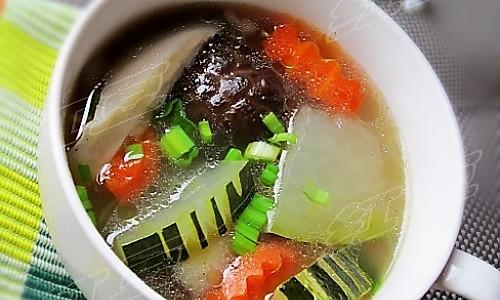 家常美味鲜汤---鸡架菌菇冬瓜汤的做法