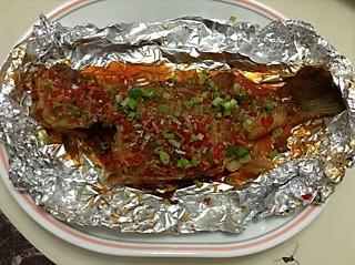泰汁焗鲈鱼的做法