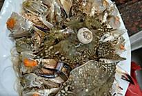 粉丝蒸螃蟹的做法