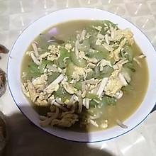 丝瓜白玉菇炒鸡蛋