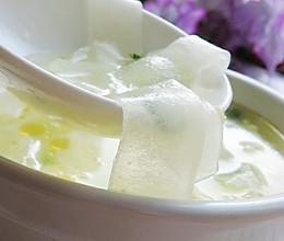 老黄瓜种鸡蛋汤的做法