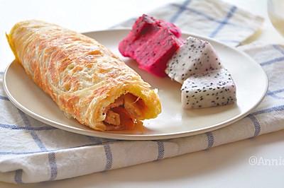 快手早餐-香酥手抓饼