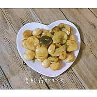 杏鲍菇炒虾丸