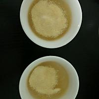 椰汁桂花糕的做法图解2