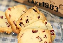 蔓越莓饼干的做法(烤箱做饼干)的做法