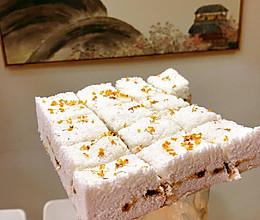 红糖桂花蒸米糕的做法