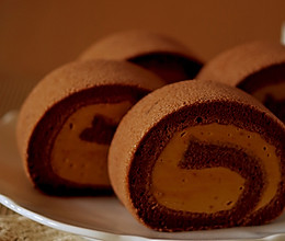 焦糖蛋糕卷的做法