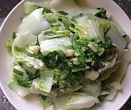 蒜蓉快菜(奶白菜)的做法