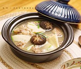 适合深秋的冬笋花菇番鸭汤的做法