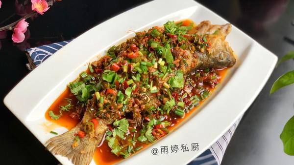 香辣鲈鱼(家常菜)