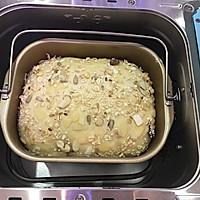 面包机版果干燕麦吐司#东菱Wifi云智能面包机#的做法图解15