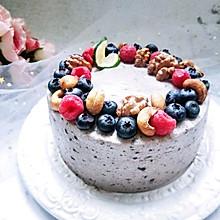 水果坚果奥利奥咸奶油蛋糕