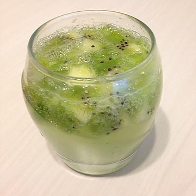 夏天凉饮—气泡奇异果