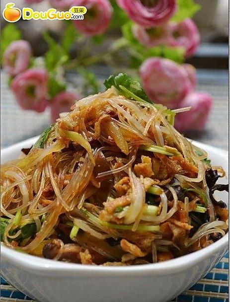 韩式拌杂菜——凉菜的做法