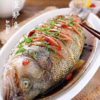 年夜饭_清蒸鲈鱼的做法图解8