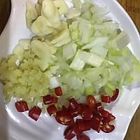 糖醋白菜的做法图解2