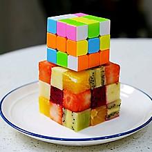 魔方水果拼盘(创意年夜饭)