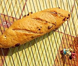 #四季宝蓝小罐# 菠萝蜜核蔓越莓面包的做法