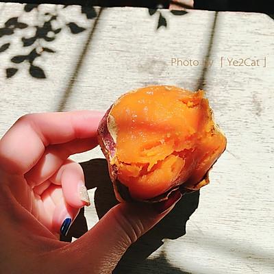 香甜下午茶 童年回忆烤红薯(烤箱版)