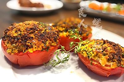 【普罗旺斯烤番茄】番茄的另一种美味吃法