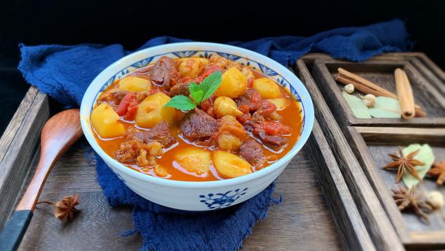 #父亲节,给老爸做道菜#番茄牛肉炖土豆的做法
