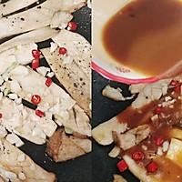 吃出肉味的香煎杏鲍菇➕太太乐鲜鸡汁蒸鸡原汤的做法图解6