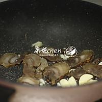 腊肉炒包菜#无腊味,不新年#的做法图解4