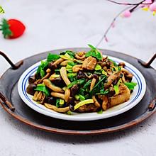 #精品菜谱挑战赛#蟹味菇爆花肉