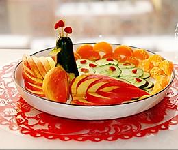#元宵节美食大赏#教你做最简单的富贵花开之孔雀开屏