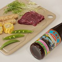 蚝油煎小牛肉#厨此之外,锦享美味#的做法图解1
