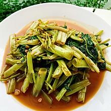 风靡泰国的虾酱炒空心菜