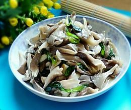 蘑菇炒青菜的做法