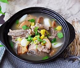 香菇板栗扇骨汤的做法