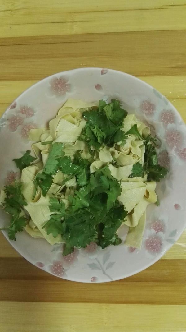 拌干豆腐丝的做法