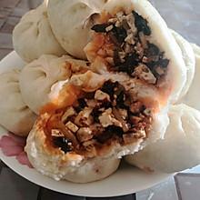 #换着花样吃早餐#麻辣豆腐包子