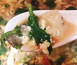 蔬菜疙瘩面汤的做法