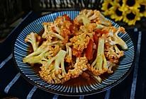 鲜炒菜花的做法