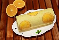 香橙蛋糕卷(如何切出超薄香橙/柠檬片)的做法