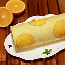 香橙蛋糕卷(如何切出超薄香橙/柠檬片)