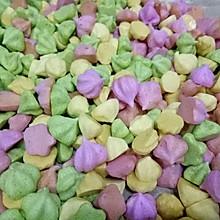 菠菜(南瓜、红心火龙果)溶豆(适合新手,易操作,不塌陷版)
