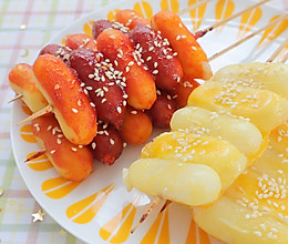 隔着屏幕都被馋到流口水的『韩式烤年糕串』软糯有嚼劲,谁能不爱的做法