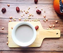 #秋天怎么吃#红枣五谷豆浆的做法